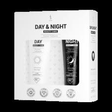 Set de pastă de dinți DuoLife Day & Night Beauty Care (2x50ml)