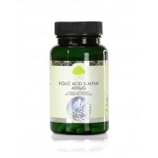 Acid Folic (5-MTHF) 400mcg - 120 capsule.