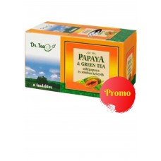 Ceai Verde cu Papaya