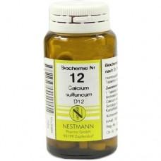 100 CPR. - NR.12 CALCIUM SULFURICUM  D6