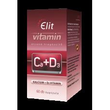 Elit vitamin Ca+D3 60 caps