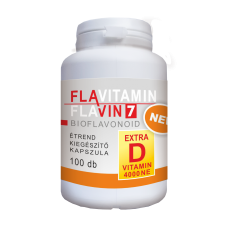 FLAVITAMIN  FLAVIN 7  BIOFLAVONOID  Vitamina D - 100 buc