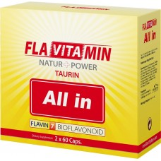 Flavitamin Taurină All In 2 x 60 caps