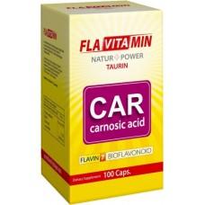 Flavitamin Taurină Carnosic A 100 caps