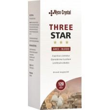 Myco Crystal - Three Star - AHCC Blood 120 buc